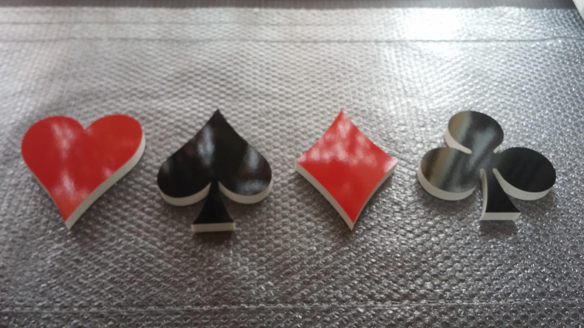 カルプアート【トランプ】/厚み15T(17.5mm)/小口白