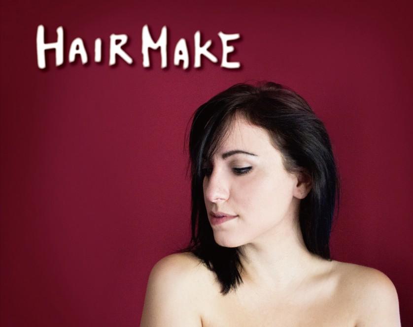 #無料看板素材 #HAIRMAKE
